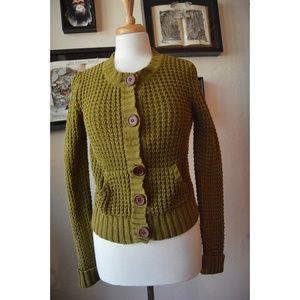 MODA Sweater Cardigan - SMALL